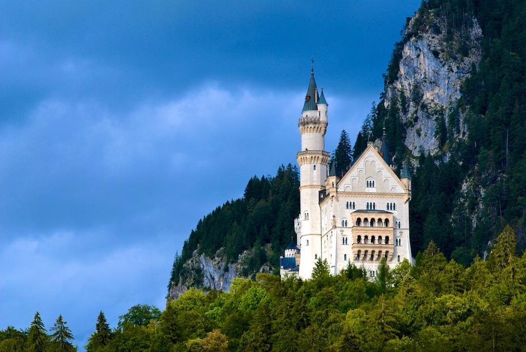 Neuschwanstein Castle, Allgau Alps, Bavaria